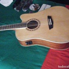 Instrumentos musicales: GUITARRA ACÚSTICA WASHBURN. NUEVA. Lote 91509795