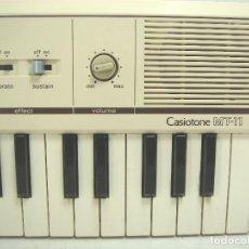 Instrumentos musicales: HIPER RARO TECLADO PIANO - CASIO MT-11 - CASIOTONE MT11 - JAPAN AÑOS 80 - SINTETIZADOR ORGANO. Lote 91795345