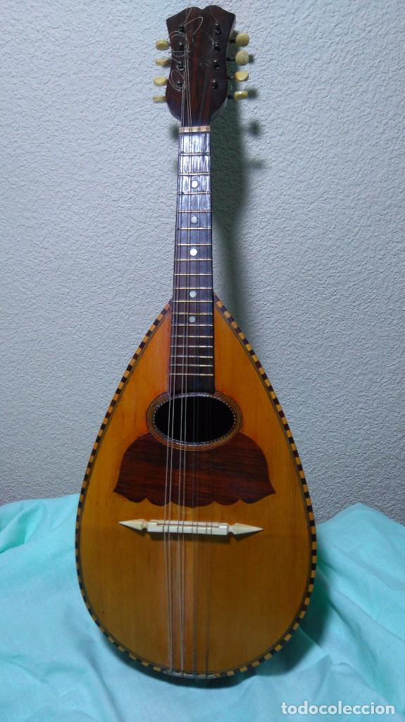 MANDOLINA (Música - Instrumentos Musicales - Cuerda Antiguos)