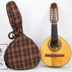 Instrumentos musicales: ANTIGUA BANDURRIA - FÁBRICA DE GUITARRAS JUAN ESTRUCH, BARCELONA - RESTAURACIÓN - AÑOS 60-70. Lote 93672970