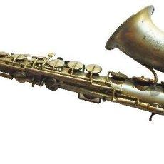 Instrumentos musicales: SAXOFON. EXPOSICION UNIVERSAL DE PARIS 1900. MILITAR, EN FUNCIONAMIENTO. MIRAR FOTOS.. Lote 93842795