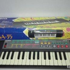 Instrumentos musicales: TECLADO CASIO (SONGBANK,KEYBOARD,SA-35),EDICIÓN MICHAEL JACKSON. Lote 95370335