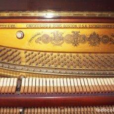 Instrumentos musicales: PIANO VERTICAL MARCA CHICKERING & SONS, BOSTON, U.S.A. NÚMERO DE SERIE.. Lote 95552927