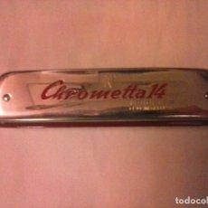 Instrumentos musicales: ARMÓNICA CROMÁTICA HOHNER CHROMETTA 14.. Lote 95666475