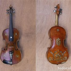Instrumentos musicales: VIOLIN DEL SIGLO XIX A PRINCIPIOS DEL XX. Lote 95730807