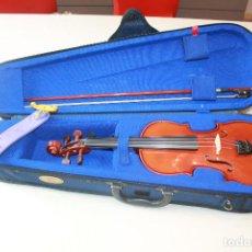Instrumentos musicales: VIOLÍN STENTOR STUDENTI, 1/4, MADERA DE ARCE Y ABETO, ARCO CON NUEZ DE ÉBANO. MÁS INF. 17 FOTOS.. Lote 96663151