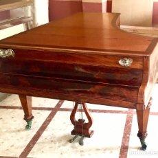 Instrumentos musicales: ANTIGUO PIANO DE MARCA HORNUNG & MÖLLER. AÑO CIRCA 1870.. Lote 96777964