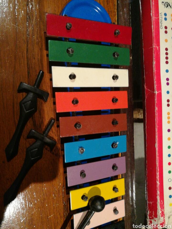 Instrumentos musicales: Xilofono vintage - Foto 3 - 96936746