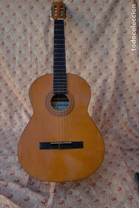 ALMERIA GUITARRA CASA GONZALEZ AÑOS 70- JUAN MIGUEL GONZALEZ.FOTOS ADIC (Música - Instrumentos Musicales - Guitarras Antiguas)
