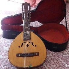 Instrumentos musicales: OFERTA BANDURRIA ANTIGUA ENRIQUE RUIZ CASTILLO. Lote 97825107