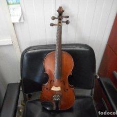 Instrumentos musicales: ANTIGUO VIOLIN BARROCO EN BUEN ESTADO. Lote 98040363
