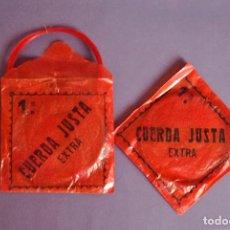 Instrumentos musicales: CUERDAS ROJAS DE TRIPA. Lote 98052367