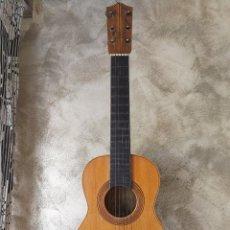 Instrumentos musicales: ANTIGUA GUITARRA O REQUINTO JOSE MARIA DURÁ CON CLAVIJAS DE MADERA. Lote 98676987