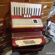 Instrumentos musicales: ACORDEON GUERRINI SUPERLUXE FUNCIONANDO. Lote 98679343