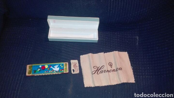 Instrumentos musicales: Bonita harmónica Blessing made in china, de los 80 perfecto estado - Foto 2 - 98897631