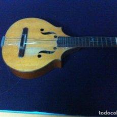 Instrumentos musicales: PRECIOSA MANDOLINA DE SALVADOR IBÁÑEZ 1854-1920. Lote 99070243