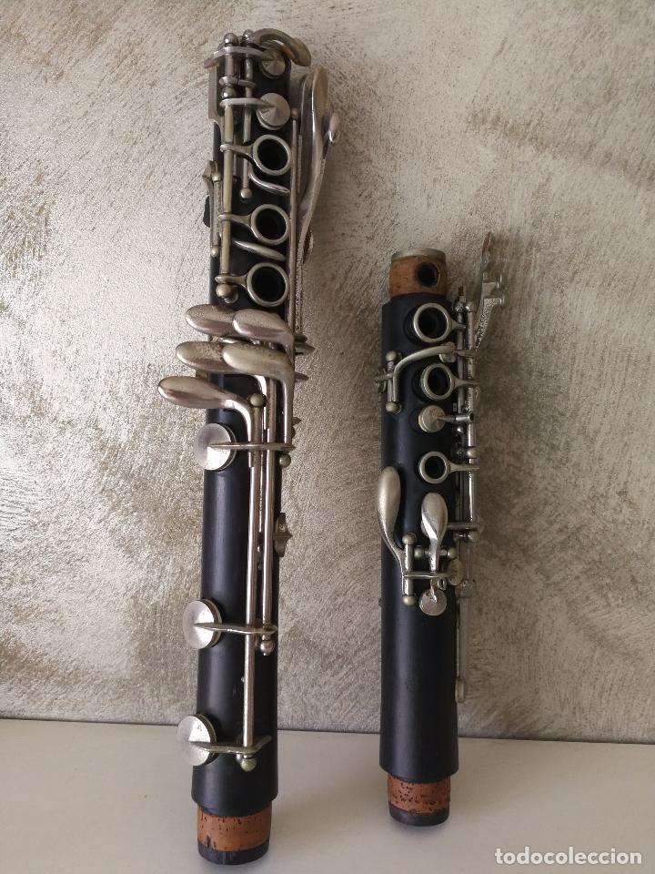 TUBO SUPERIOR Y TUBO MEDIO CLARINETE BUFFET BC 20 VINTAGE (Música - Instrumentos Musicales - Viento Madera)