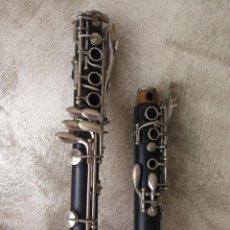 Instrumentos musicales: TUBO SUPERIOR Y TUBO MEDIO CLARINETE BUFFET BC 20 VINTAGE. Lote 99102943