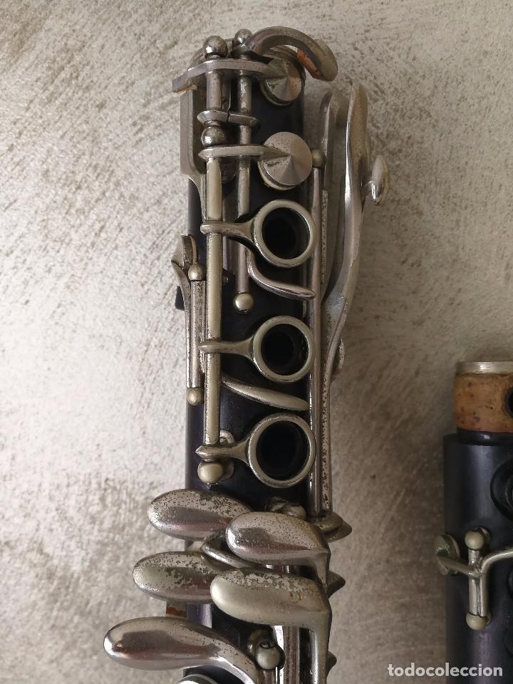 Instrumentos musicales: TUBO SUPERIOR Y TUBO MEDIO CLARINETE BUFFET BC 20 VINTAGE - Foto 2 - 99102943