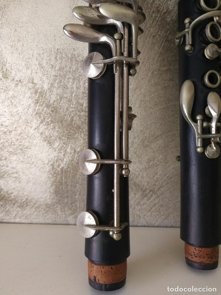 Instrumentos musicales: TUBO SUPERIOR Y TUBO MEDIO CLARINETE BUFFET BC 20 VINTAGE - Foto 6 - 99102943