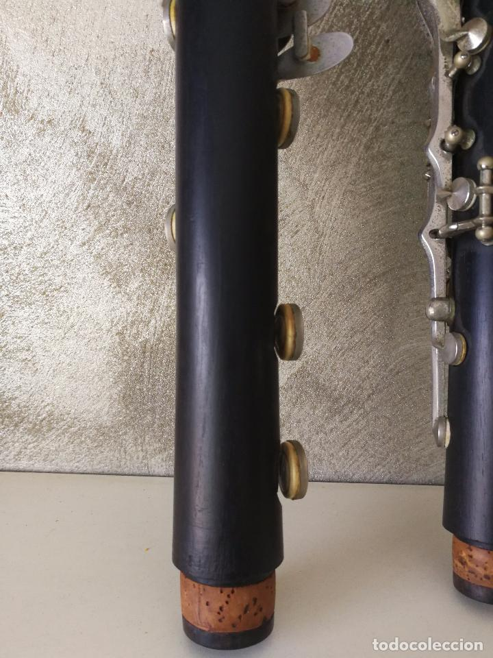 Instrumentos musicales: TUBO SUPERIOR Y TUBO MEDIO CLARINETE BUFFET BC 20 VINTAGE - Foto 8 - 99102943