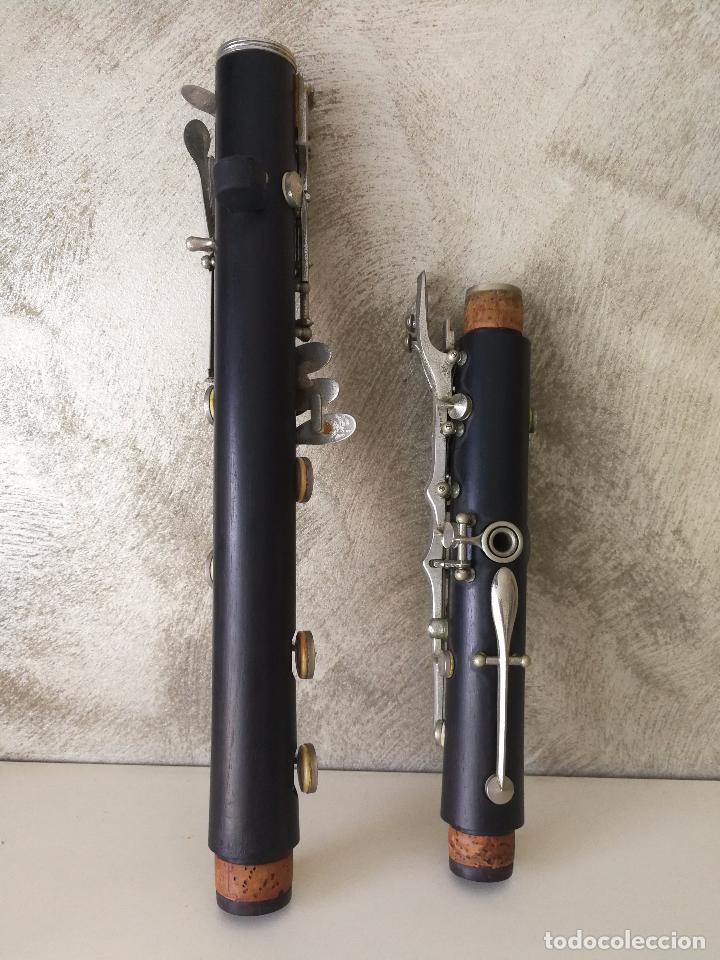 Instrumentos musicales: TUBO SUPERIOR Y TUBO MEDIO CLARINETE BUFFET BC 20 VINTAGE - Foto 10 - 99102943