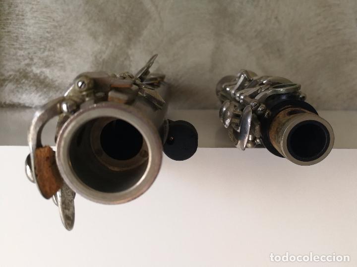 Instrumentos musicales: TUBO SUPERIOR Y TUBO MEDIO CLARINETE BUFFET BC 20 VINTAGE - Foto 12 - 99102943