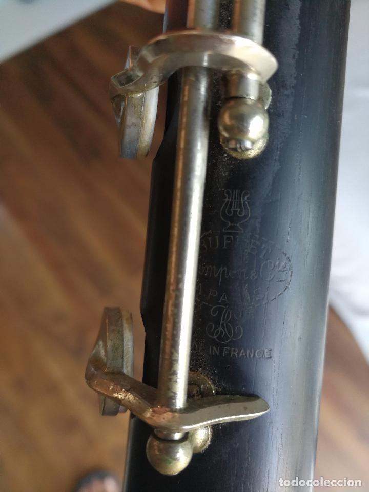 Instrumentos musicales: TUBO SUPERIOR Y TUBO MEDIO CLARINETE BUFFET BC 20 VINTAGE - Foto 15 - 99102943