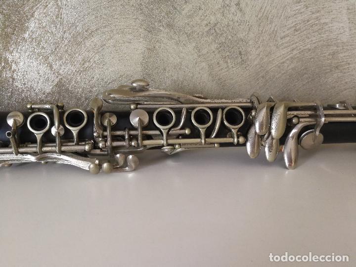 Instrumentos musicales: TUBO SUPERIOR Y TUBO MEDIO CLARINETE BUFFET BC 20 VINTAGE - Foto 17 - 99102943