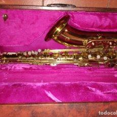 Instrumentos musicales: PRECIOSO Y PROFESIONAL SAXOFON TENOR SAXOFON TENOR XINGHAI | NUEVO CON MALETA SAXO P.V.P 980 EUROS. Lote 99721315