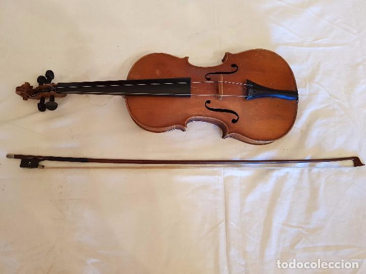 VIOLÍN STRADIVARIUS (COPIA DE 1900) CON MALETÍN INCLUIDO (Música - Instrumentos Musicales - Cuerda Antiguos)