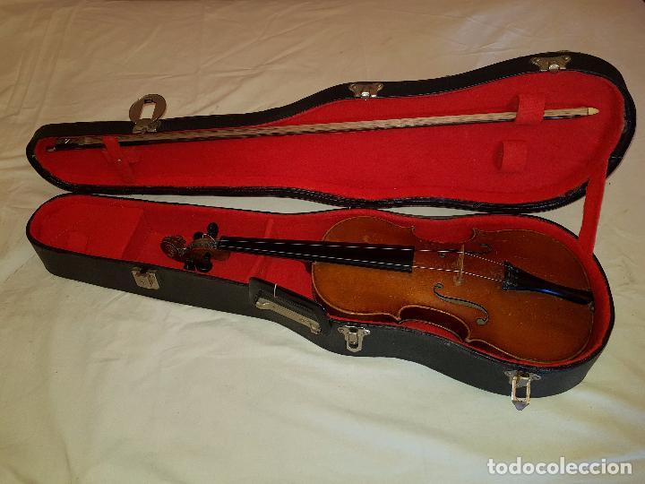 Instrumentos musicales: Violín Stradivarius (copia de 1900) con maletín incluido - Foto 3 - 99839463