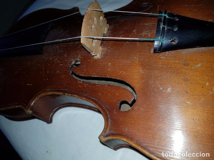 Instrumentos musicales: Violín Stradivarius (copia de 1900) con maletín incluido - Foto 4 - 99839463