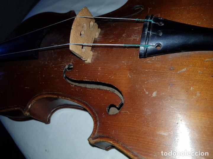 Instrumentos musicales: Violín Stradivarius (copia de 1900) con maletín incluido - Foto 5 - 99839463
