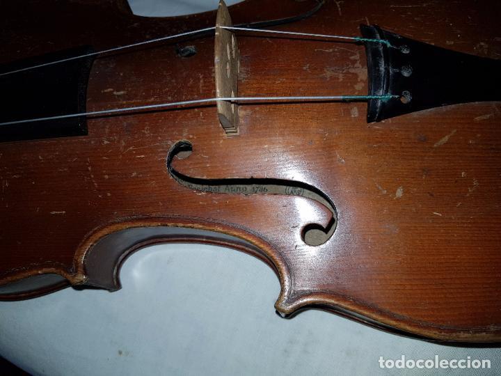Instrumentos musicales: Violín Stradivarius (copia de 1900) con maletín incluido - Foto 8 - 99839463