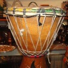 Instrumentos musicales: BONGO, DJEMBE, YEMBE ETNICO, MADERA, ARTESANAL.. Lote 99864051