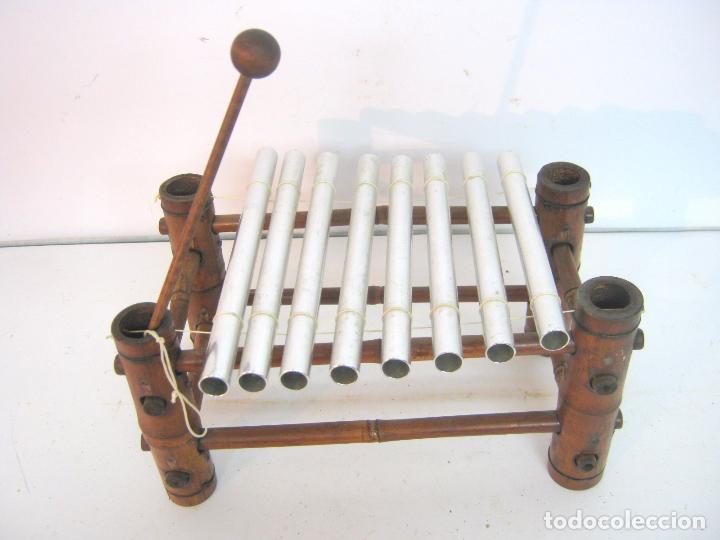 BELLO XILOFON EN BAMBU (Música - Instrumentos Musicales - Percusión)