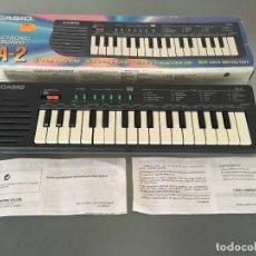 Instrumentos musicales: TECLADO CASIO ELECTRONIC KEYBOARD SA-2. FUNCIONA. Lote 100404515