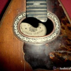 Instrumentos musicales: MANDOLINA ANTIGUA. Lote 100559763