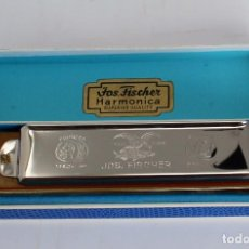 Instrumentos musicales: HARMONICA CHROMATIC- JOS. FISCHER- CALIDAD SUPERIOR- 14 CM. MADE IN GERMANY. Lote 254311150