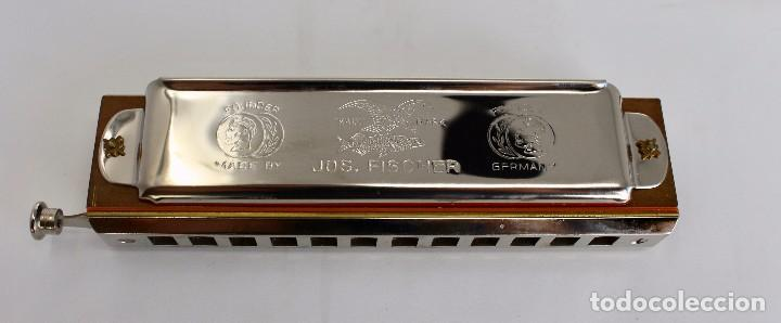Instrumentos musicales: HARMONICA CHROMATIC- JOS. FISCHER- CALIDAD SUPERIOR- 14 cm. MADE IN GERMANY - Foto 2 - 254311150