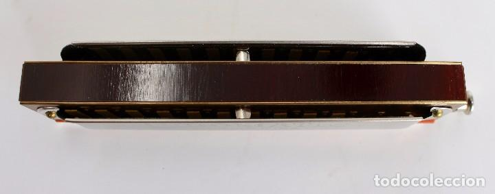 Instrumentos musicales: HARMONICA CHROMATIC- JOS. FISCHER- CALIDAD SUPERIOR- 14 cm. MADE IN GERMANY - Foto 4 - 254311150