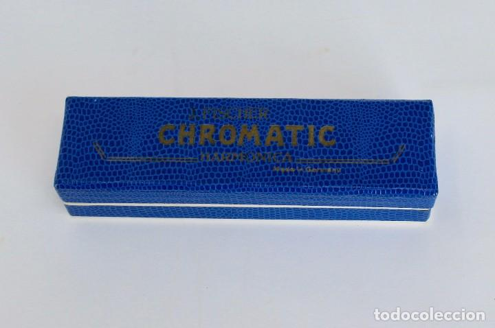 Instrumentos musicales: HARMONICA CHROMATIC- JOS. FISCHER- CALIDAD SUPERIOR- 14 cm. MADE IN GERMANY - Foto 5 - 254311150