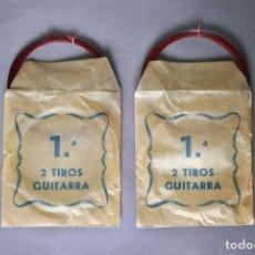 Instrumentos musicales: 10 CUERDAS DE TRIPA PARA GUITARRA. Lote 172730733