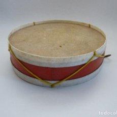 Instrumentos musicales: ANTIGUO TAMBOR DE JUGUETE. Lote 100743867