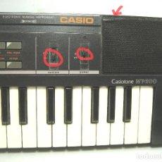 Instrumentos musicales: RARO ORGANO TECLADO ELECTRONICO - CASIO MT-200 - JAPAN 80S- 66 CMS - PIANO MT200. Lote 100895411