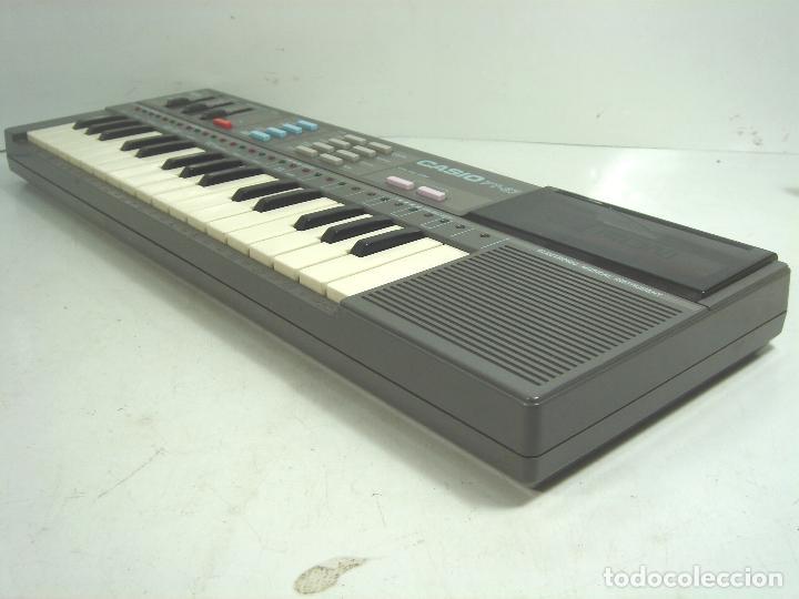 Instrumentos musicales: ORGANO TECLADO PIANO ELECTRONICO -CASIO PT-87 +ROM PACK RO-551- JAPAN 80s - ¡¡¡FUNCIONANDO ¡¡¡ PT87 - Foto 4 - 101940039