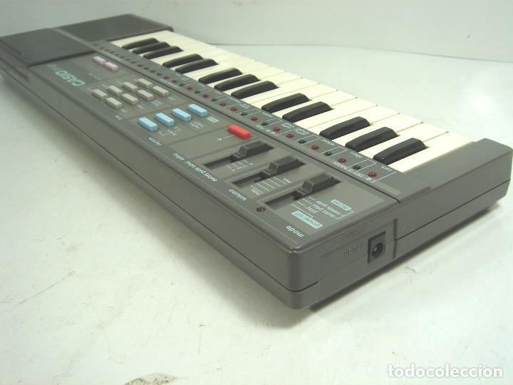 Instrumentos musicales: ORGANO TECLADO PIANO ELECTRONICO -CASIO PT-87 +ROM PACK RO-551- JAPAN 80s - ¡¡¡FUNCIONANDO ¡¡¡ PT87 - Foto 5 - 101940039