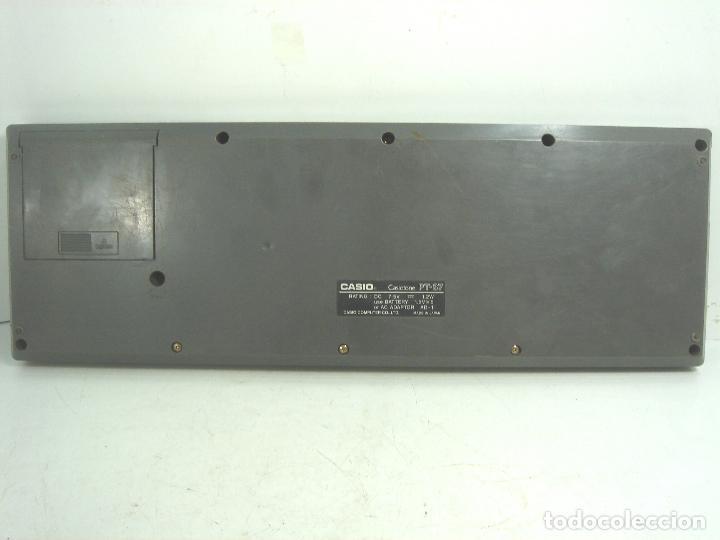 Instrumentos musicales: ORGANO TECLADO PIANO ELECTRONICO -CASIO PT-87 +ROM PACK RO-551- JAPAN 80s - ¡¡¡FUNCIONANDO ¡¡¡ PT87 - Foto 8 - 101940039