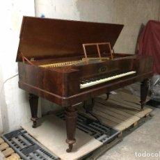 Instrumentos musicales: PIANO DE MESA ANTIGUO C.H. SCHRÖDER, HAMBURG, SIGLO XIX. Lote 102075967